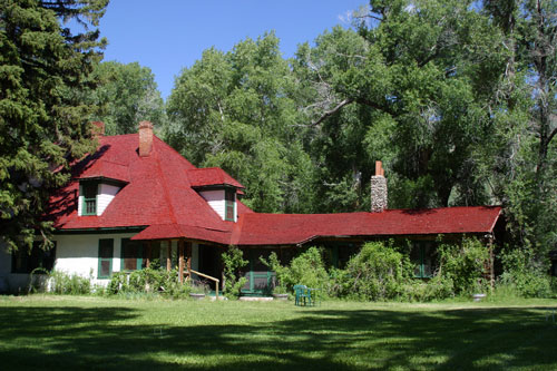 Winston Boyers's YL Ranch in Wyoming - Main House