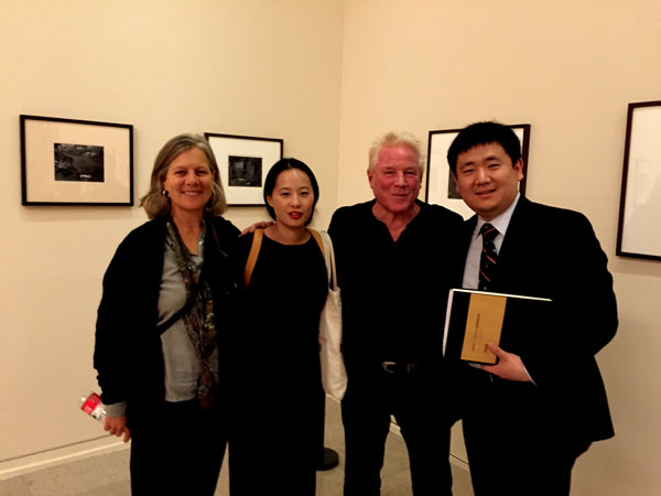 Kim Weston - In Beijing at the National Art Museum of China