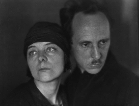 Margrethe Mather and Edward Weston by Imogen Cummingham
