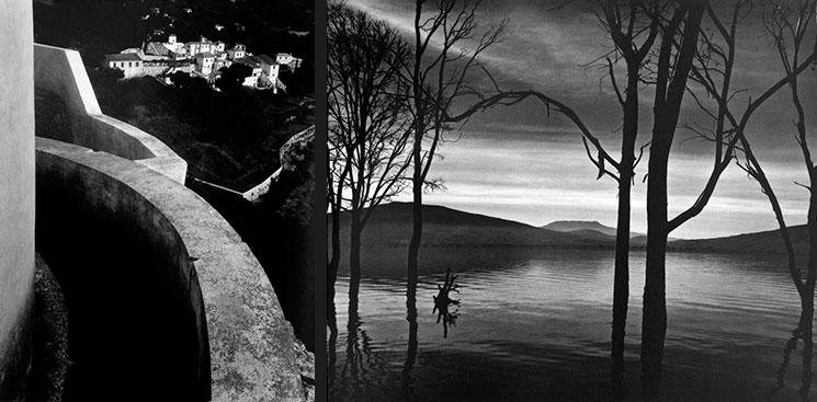 ©Brett Weston - Monastery Portugal and Lake Patzcuaro
