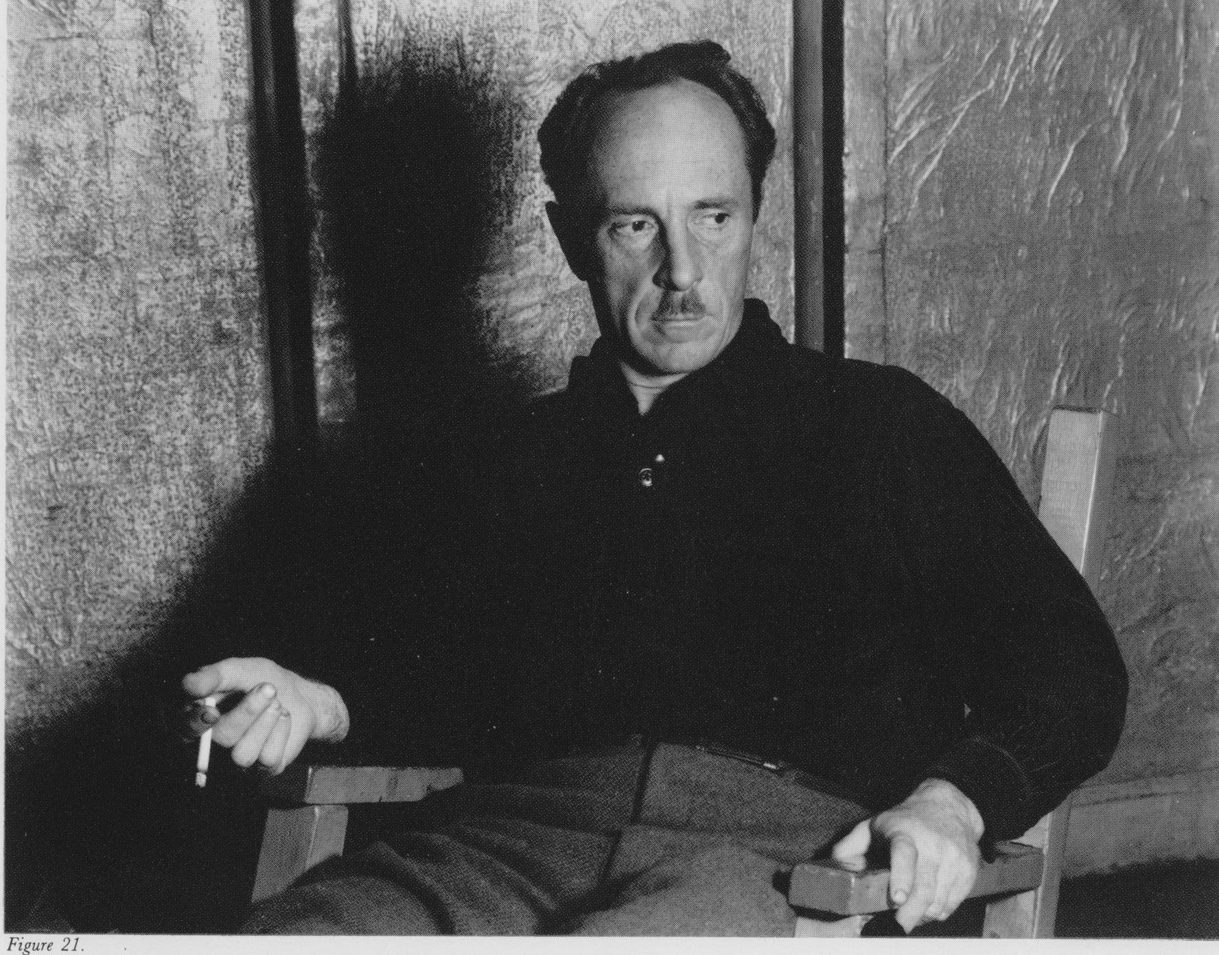 Edward Weston by Willard van Dyke (1933)