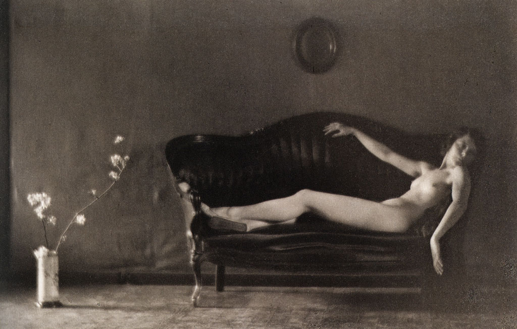 Margrethe Mather on Sofa (1920) - Edward Weston