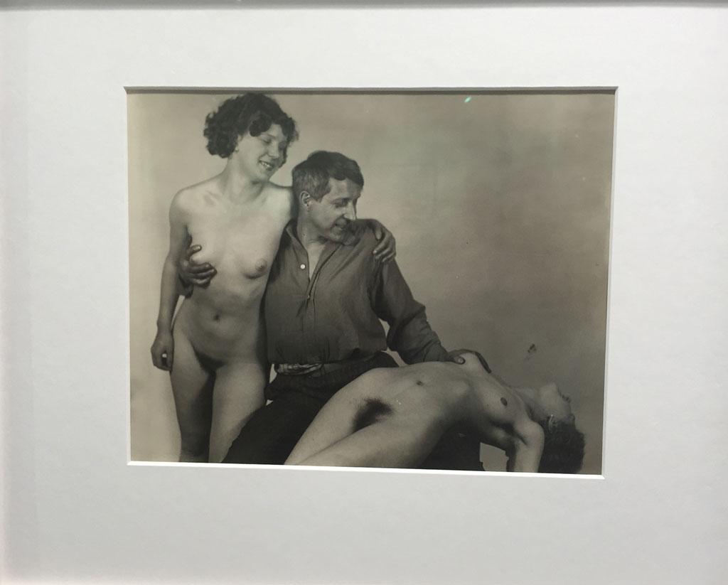 Frantisek Drtikol - Self Portrait with Models