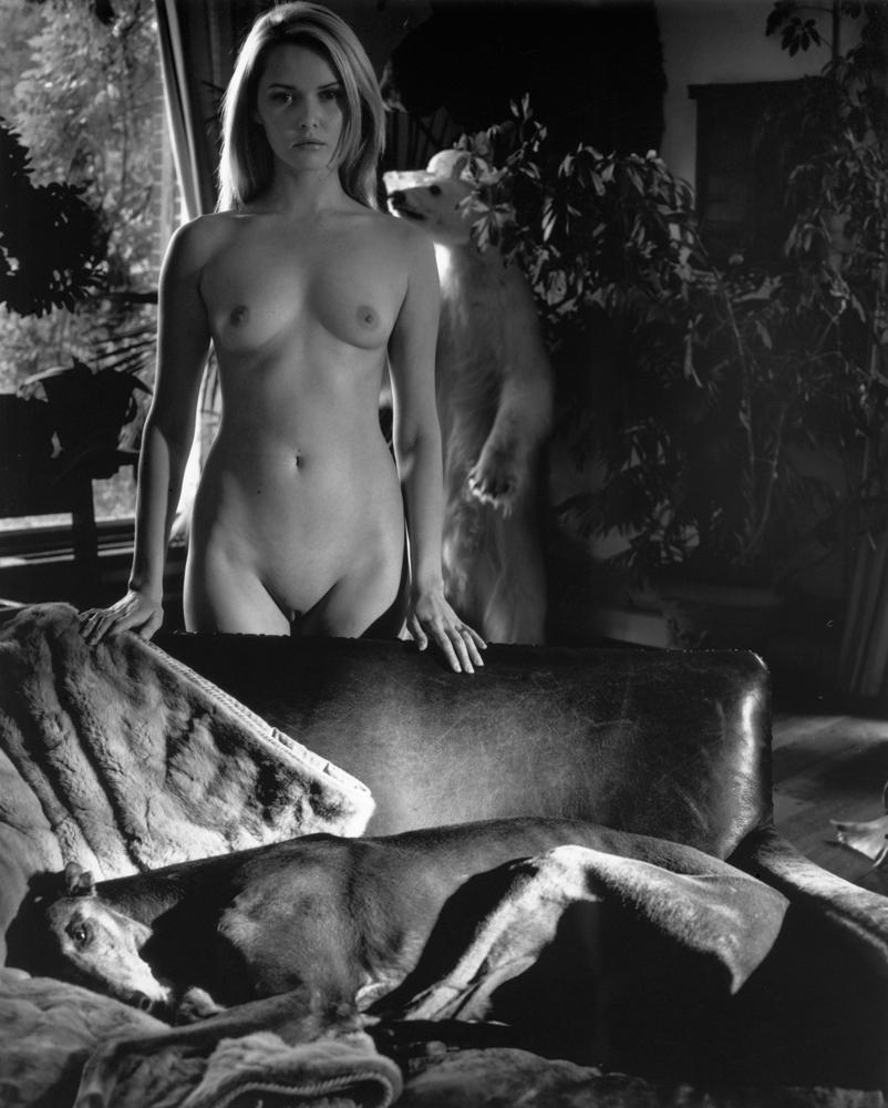 Nude and Greyhound
