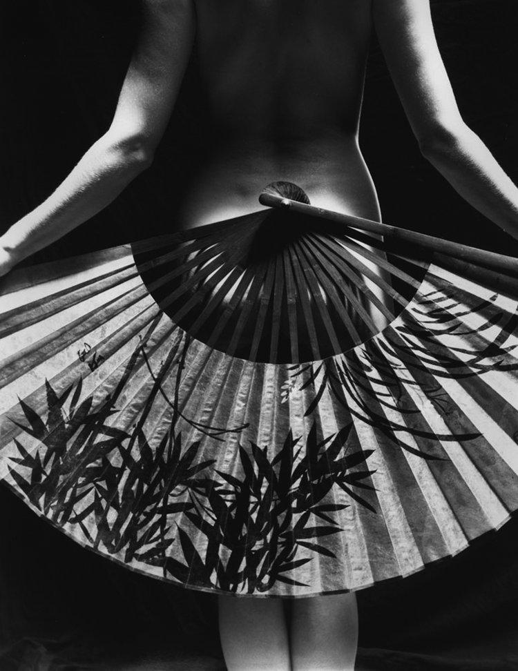 ©Kim Weston | Nude and Fan