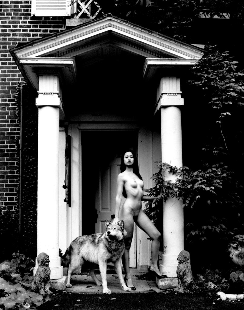 Kim Weston | Nude and Wolf
