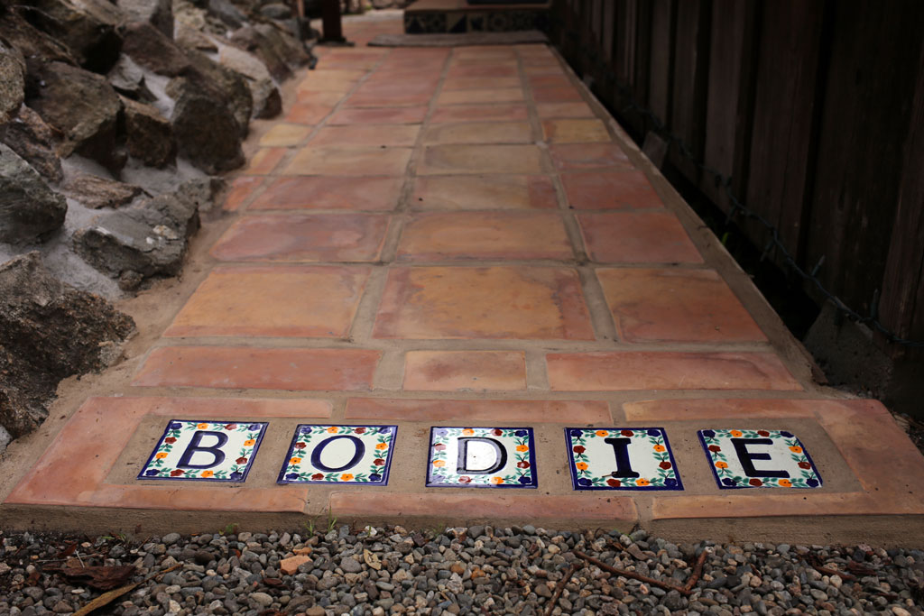 Private entrance to Bodie House.