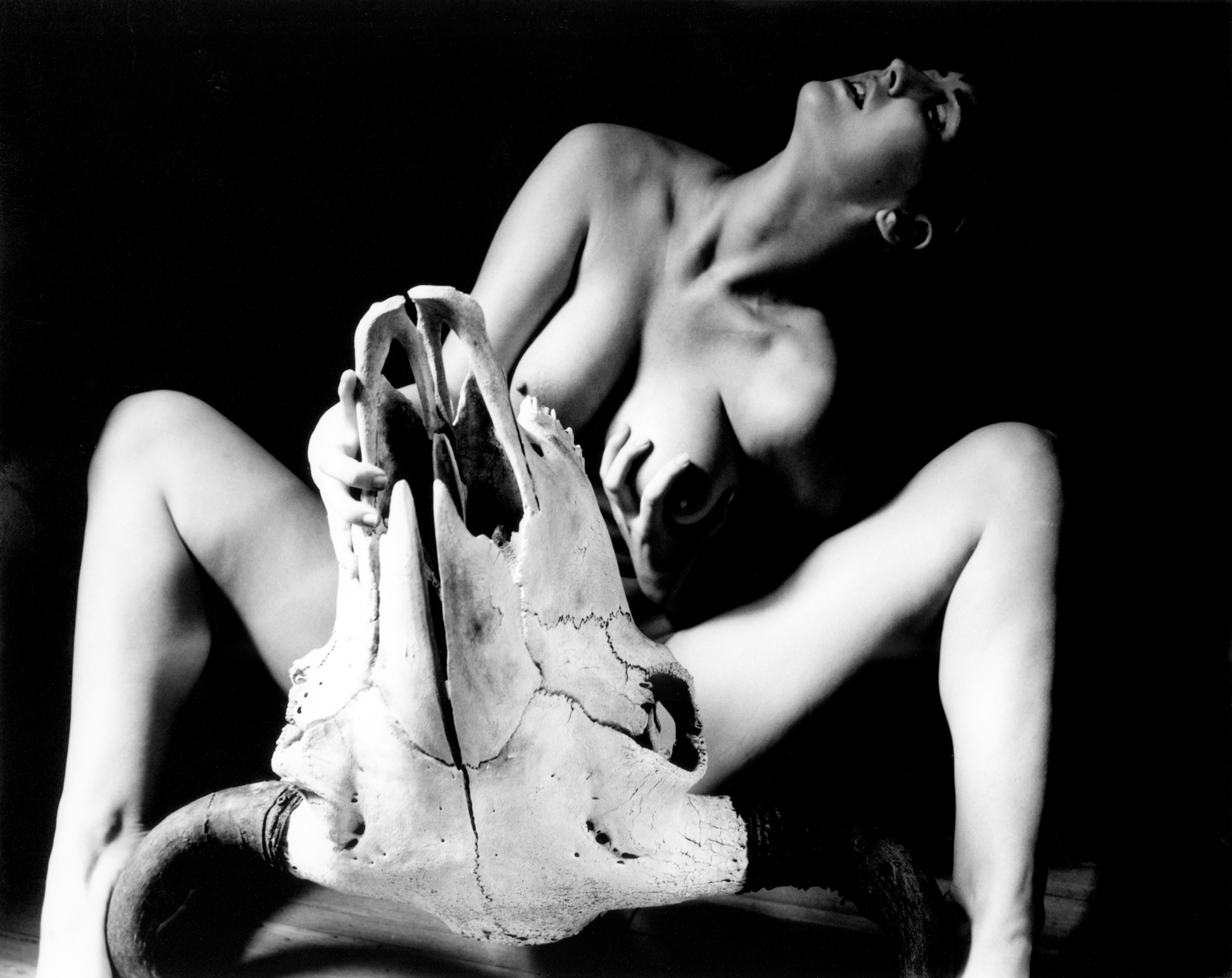 """""""Picasso Nude""""   Limited edition silver gelatin print by Kim Weston"""