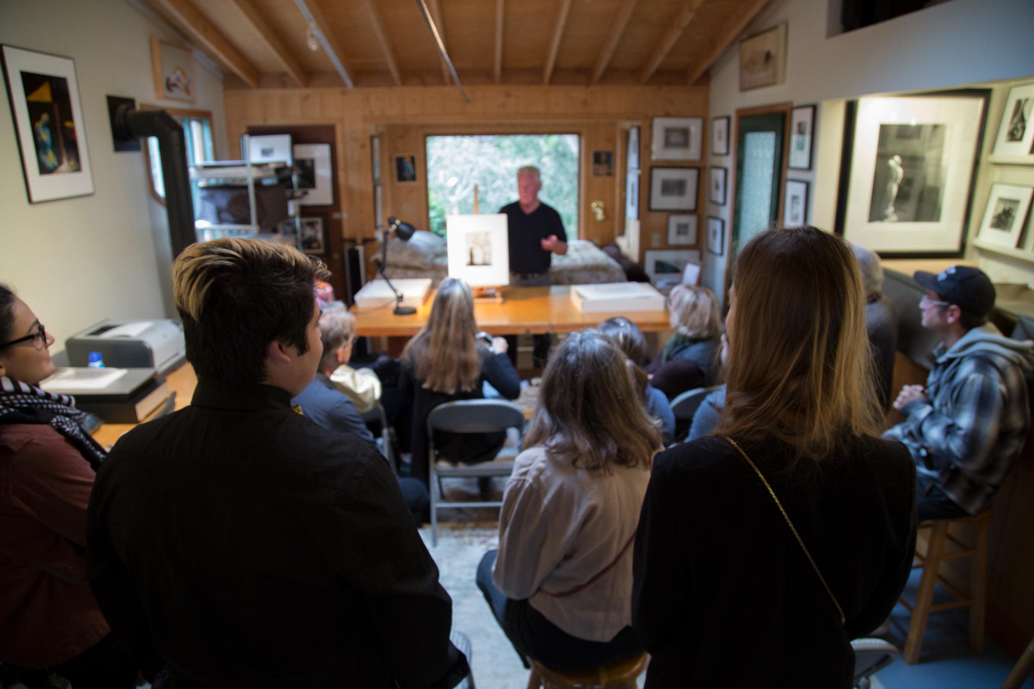 SJSU Photography Class Visit at Wildcat Hill