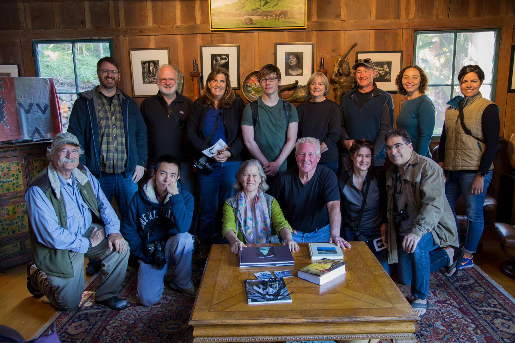 Stanford Continuing Education Visits Wildcat Hill