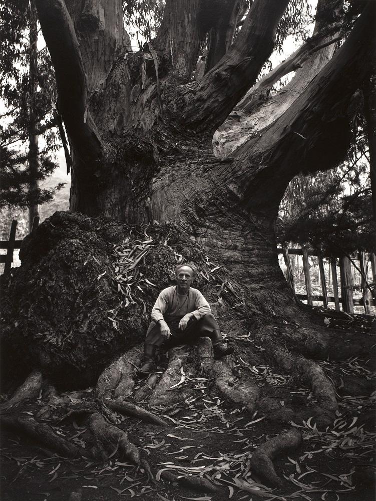 Portrait of Edward Weston by Ansel Adams - Carmel Highlands 1945
