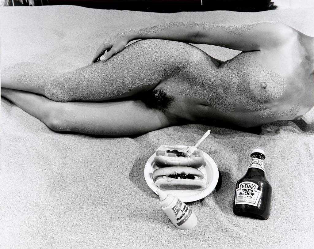 Kim Weston | Nude with Hotdogs