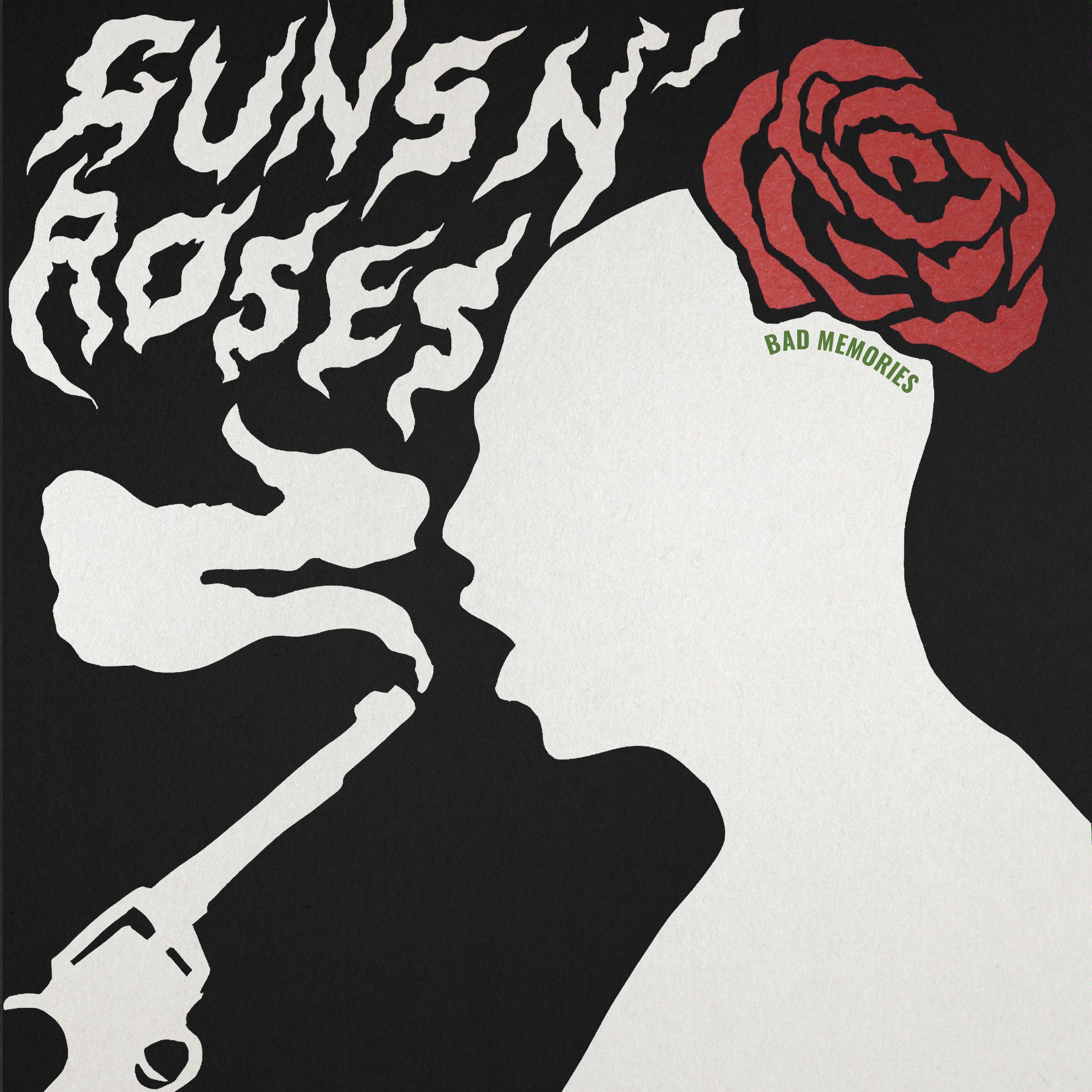 GUNS N ROSES COMPILATION ALBUM COVER