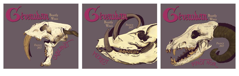 Gevaudan   Wine Labels