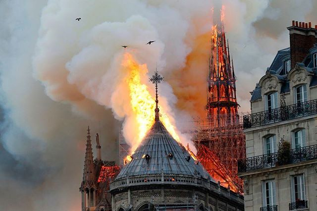 When I first heard the news of the fire at Notre Dame and the magnitude of it I openly wept. My heart aches for the immense lose of this architectural, historic, religious, and beautiful building. My heart is with all of France. . . #notredame #france #paris #tragedy