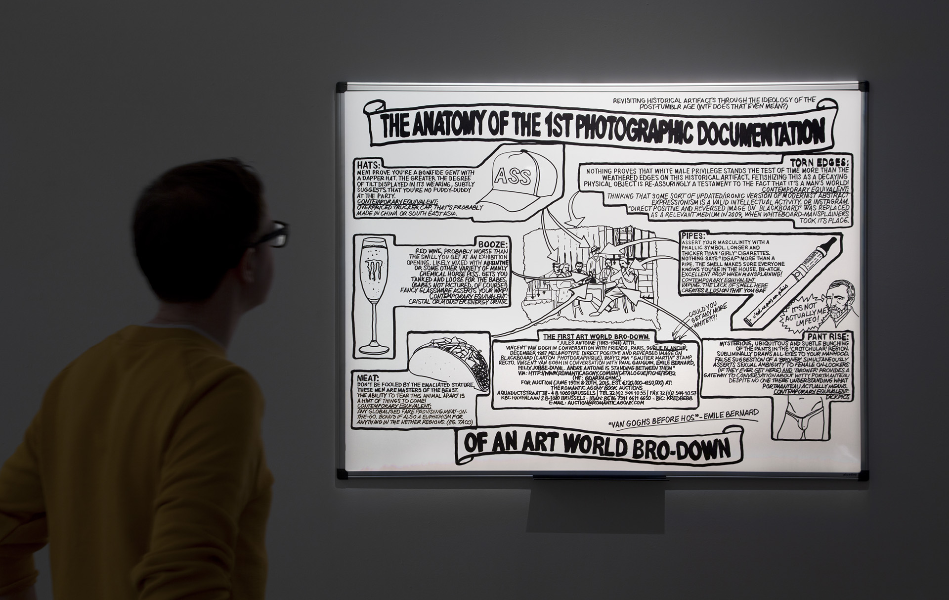 he Anatomy of the 1st Photographic Documentation of an Art World Bro-down (2015)
