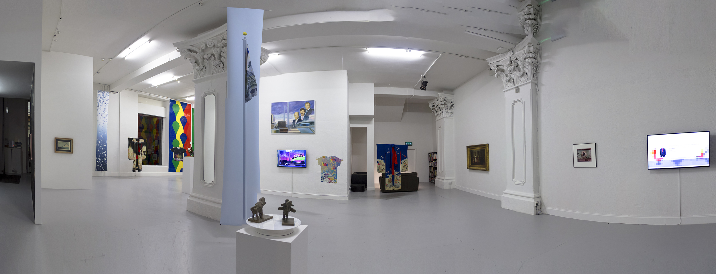 Installation view of The Parallax View (2014-2015)