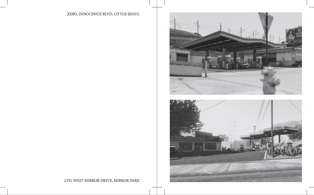 TWO PAGE SPREAD FROM BOOK