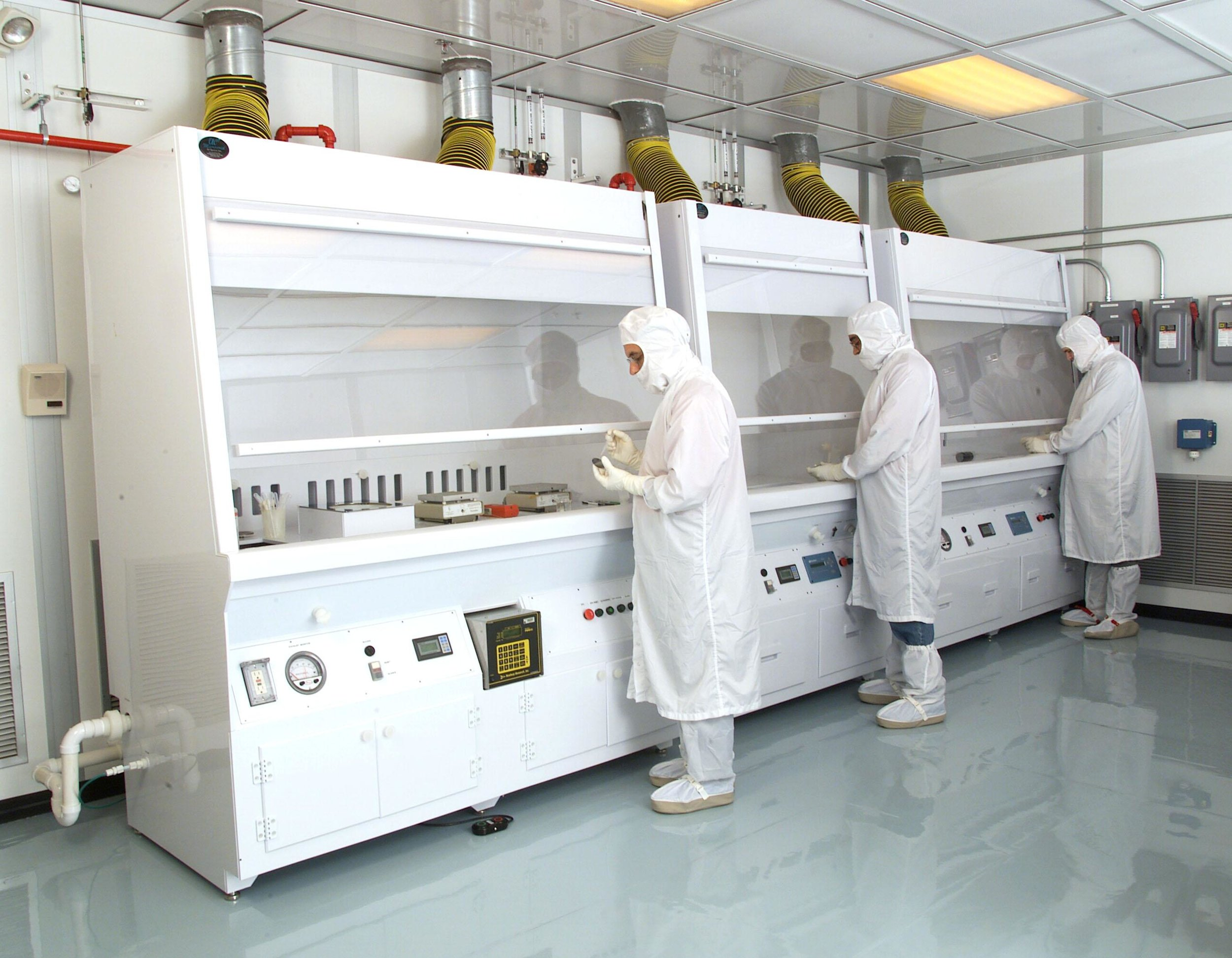 Clean Room Monitoring   -Trace Detection  -Operational Safety