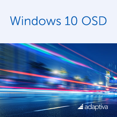 Windows 10 OSD Brochure