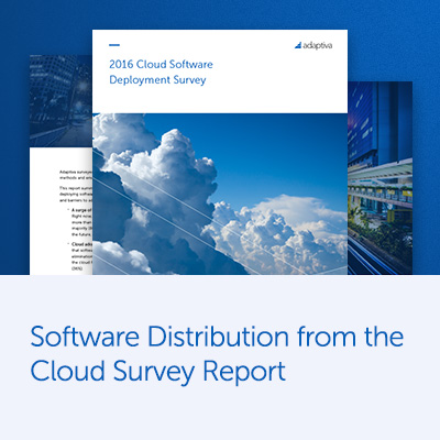 Software Distribution from the Cloud Survey Report