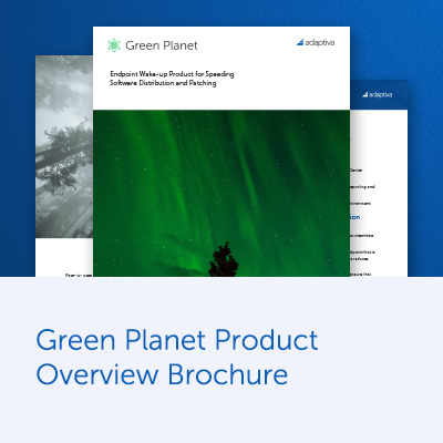 Green Planet Product Overview Brochure