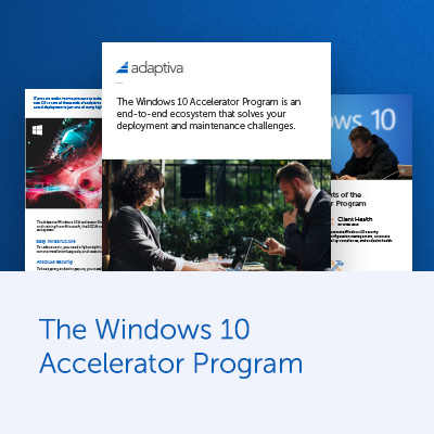 Windows 10 Accelerator Program Brochure