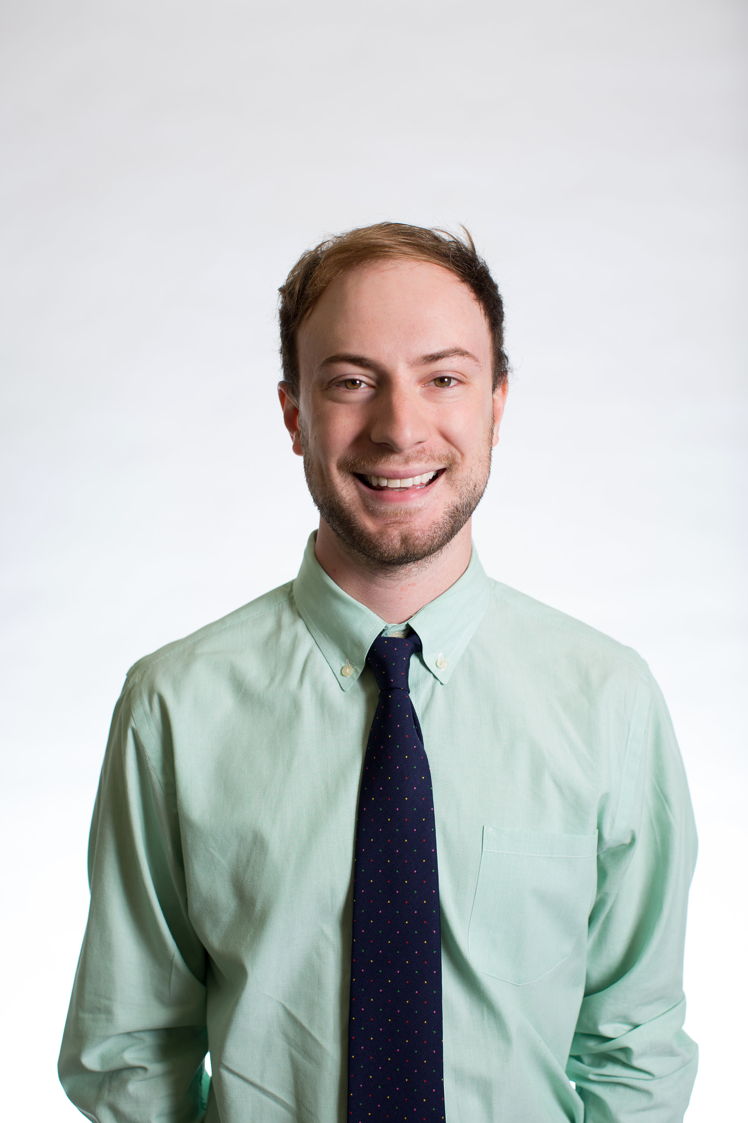 """Dillon Lynch, Recruiter - """"I love working for RMI because I get to work, everyday, with people who are passionate about the success of our programs and its impact on students. Our programs make an impact on both the students as well as those that serve. What's not to love?"""""""