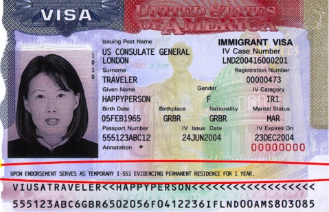 Foreign Passport   Must indicate that INS has approved it as temporary evidence of lawful admission for permanent residence.