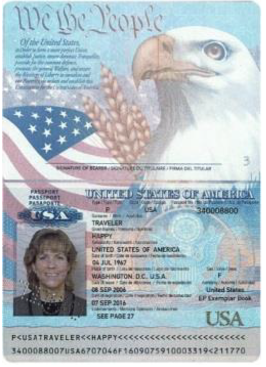 Expired U.S. Passport