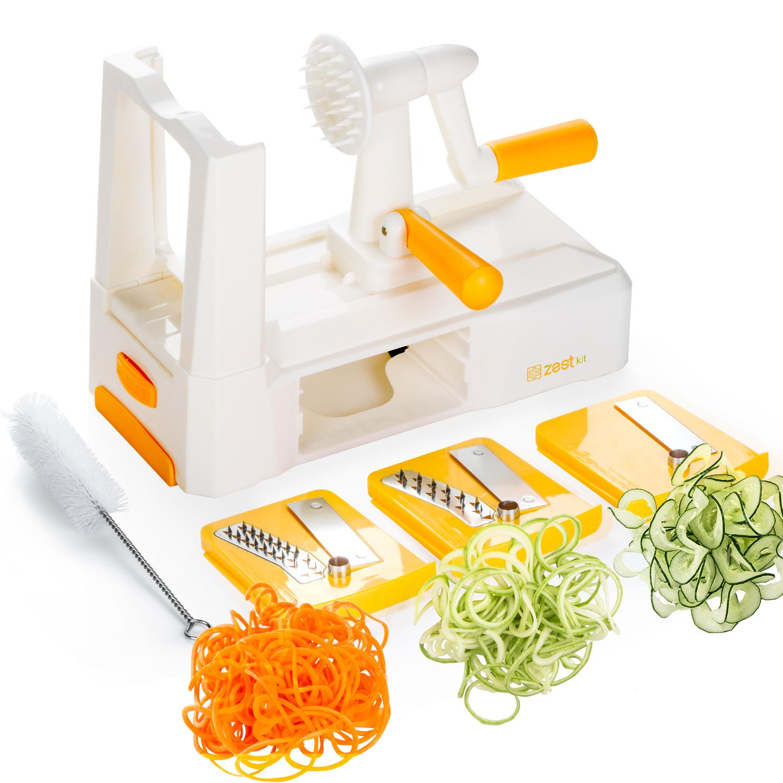 Zestkit Tri-Blade Vegetable Spiralizer  $24.99                    Buy on Amazon