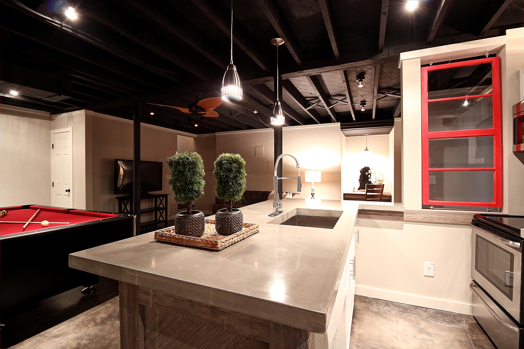 smyrna basement renovation 2