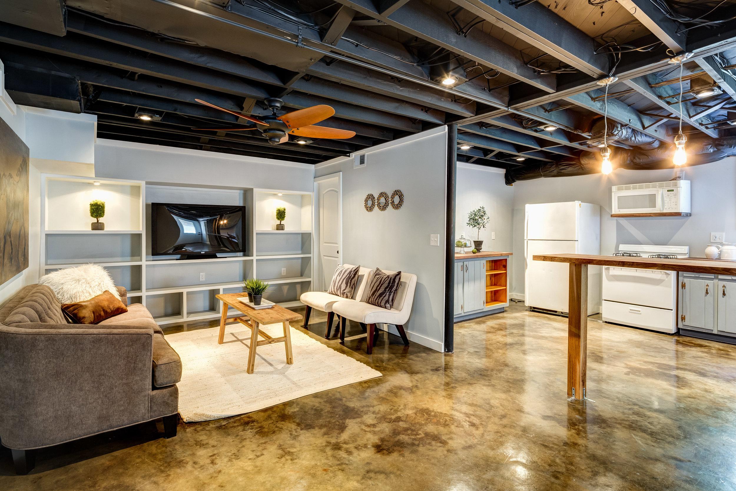 smyrna basement completion atlanta renovation