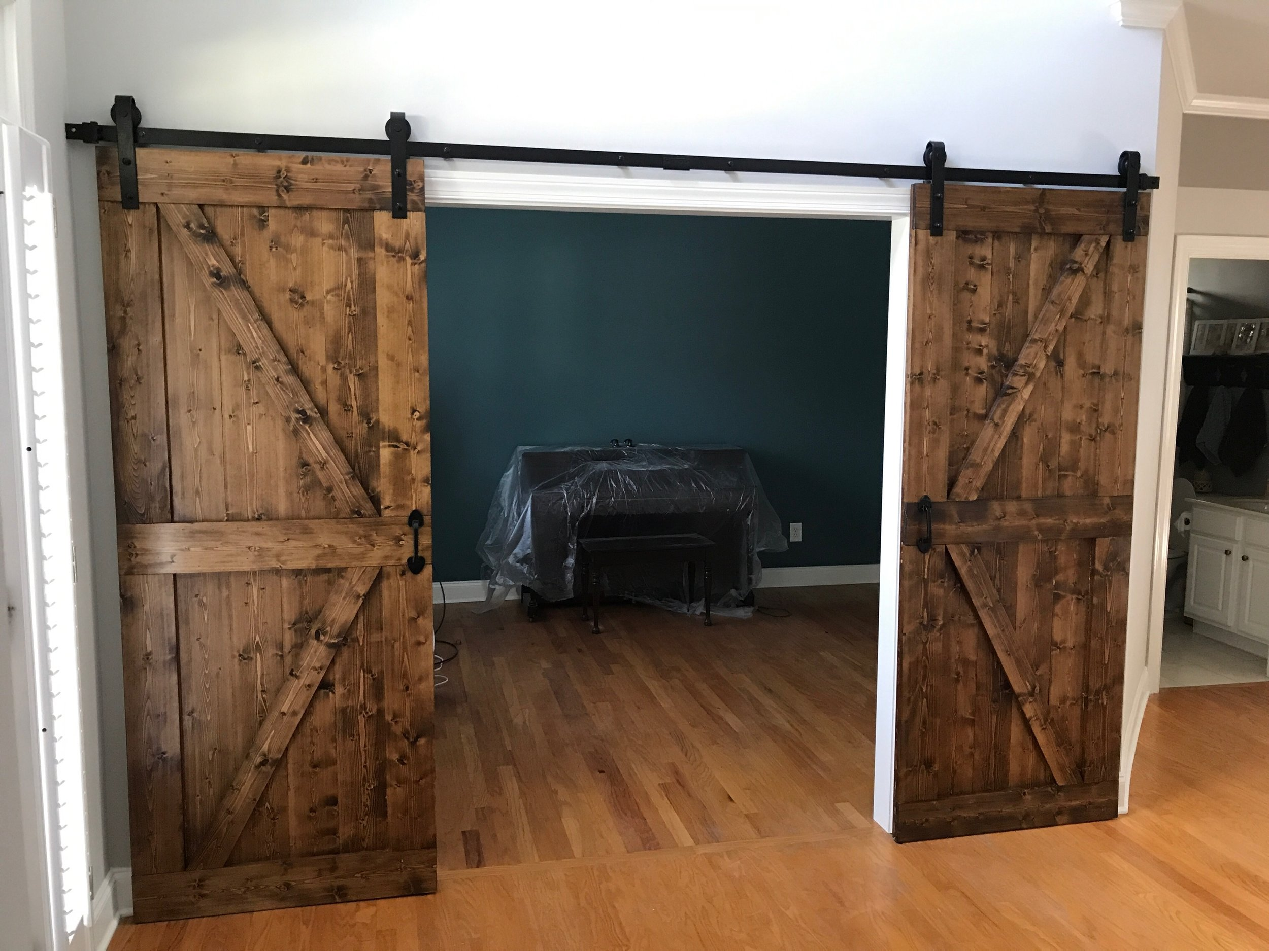 sliding barn door renovation atlanta