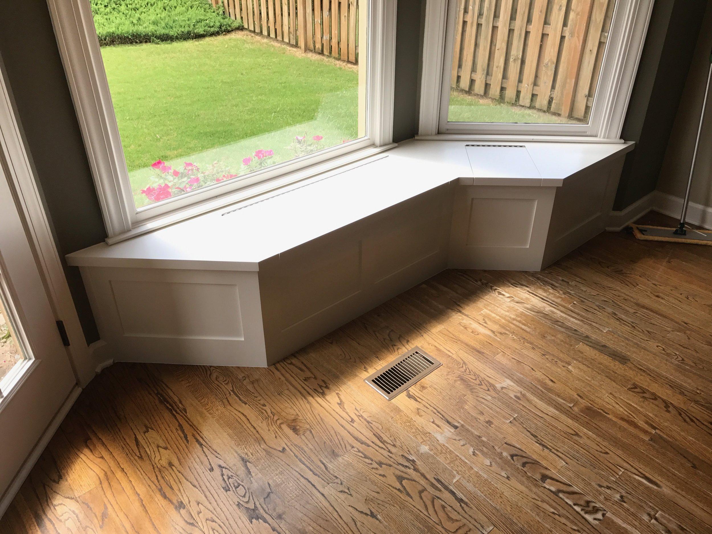 bay window seat built in atlanta