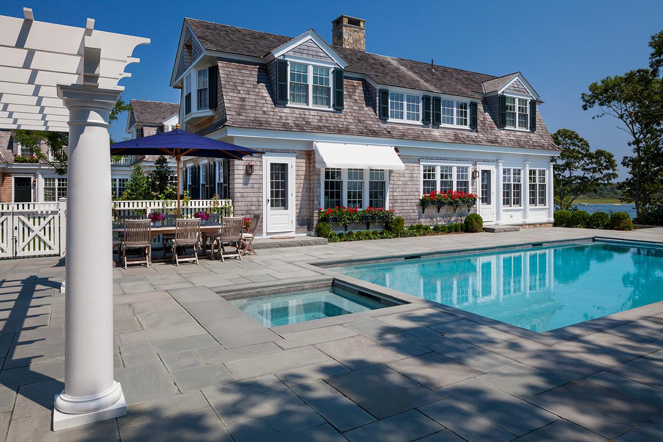 "Residential (New Construction) over 5,000 SF ""Coastal New England Harbor House"" Patrick Ahearn Architect"