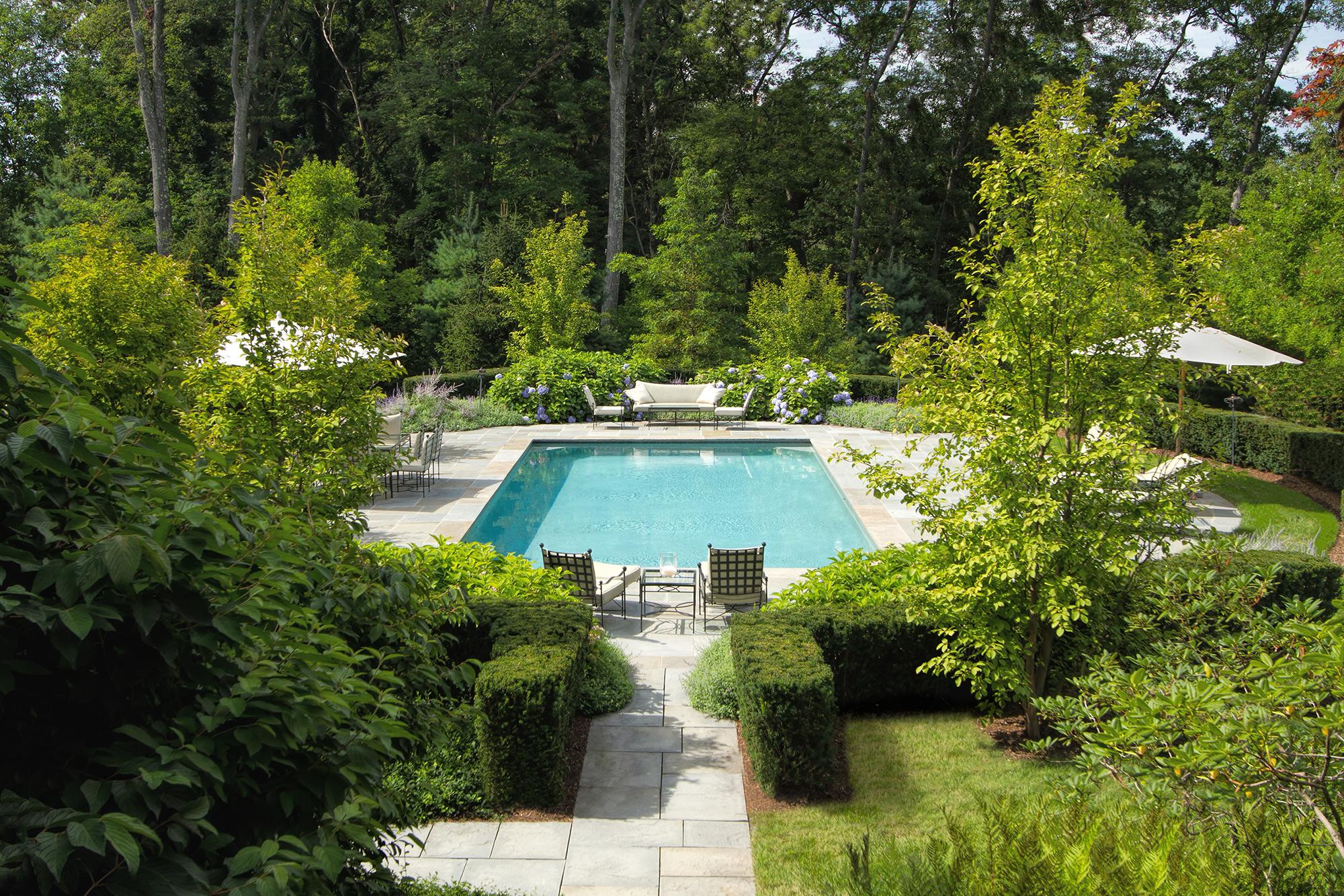 "Landscape Architecture ""Earl Major Estate"" Dan K. Gordon Associates"