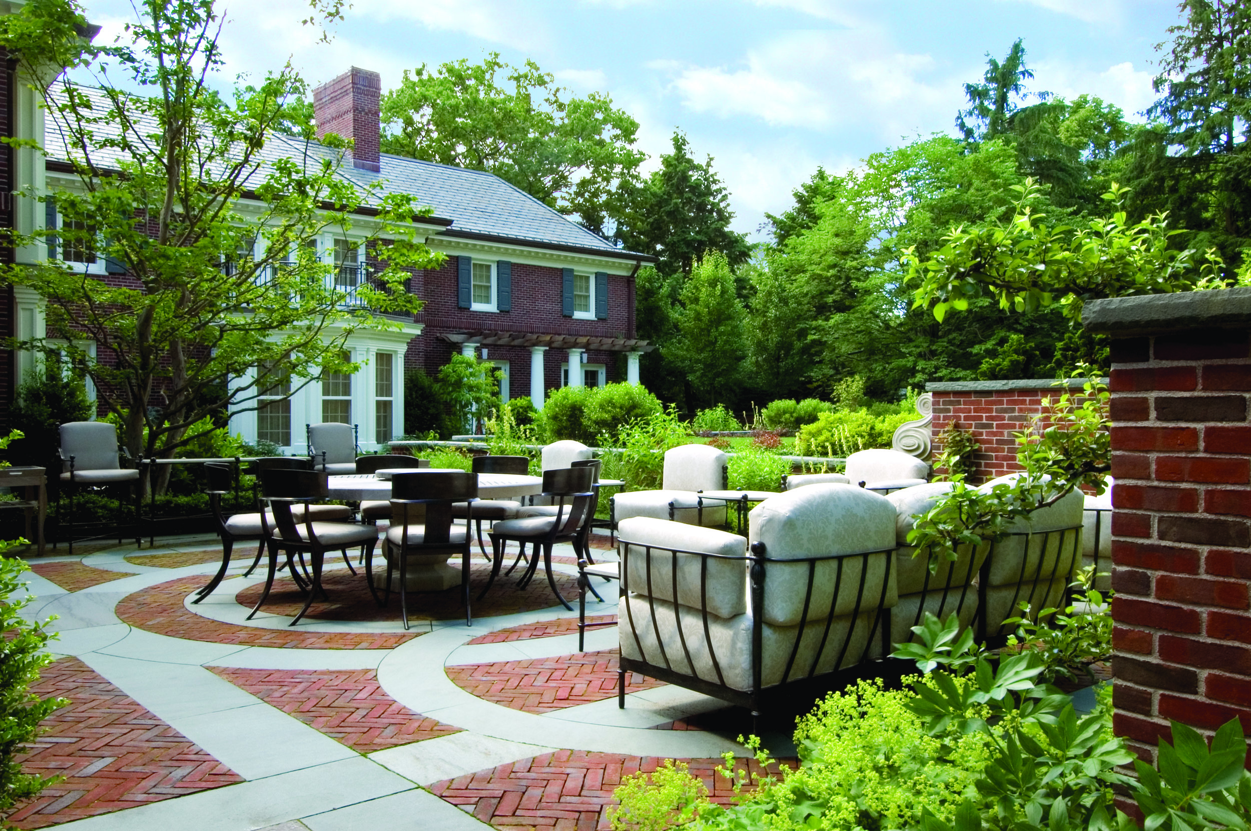 "Landscape ""Georgian Country Estate"" Gregory Lombardi Design"