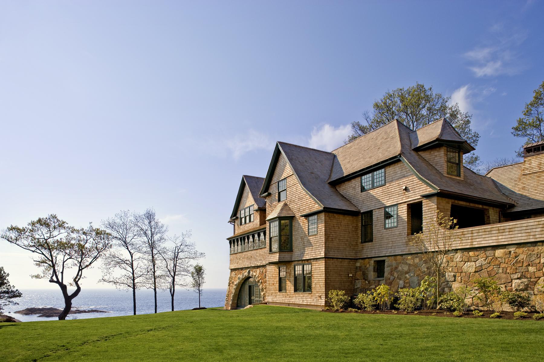 "Residential: New Construction under 5,000 SF ""Rocksyde"" Albert, Righter & Tittmann Architects"