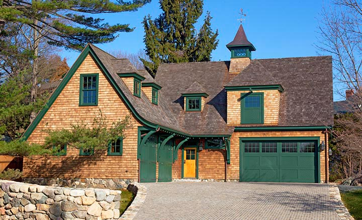 """Residential: Restoration, Renovation or Addition under 5,000 SF """"Shingle Style Carriage House"""" Frank Shirley Architects"""
