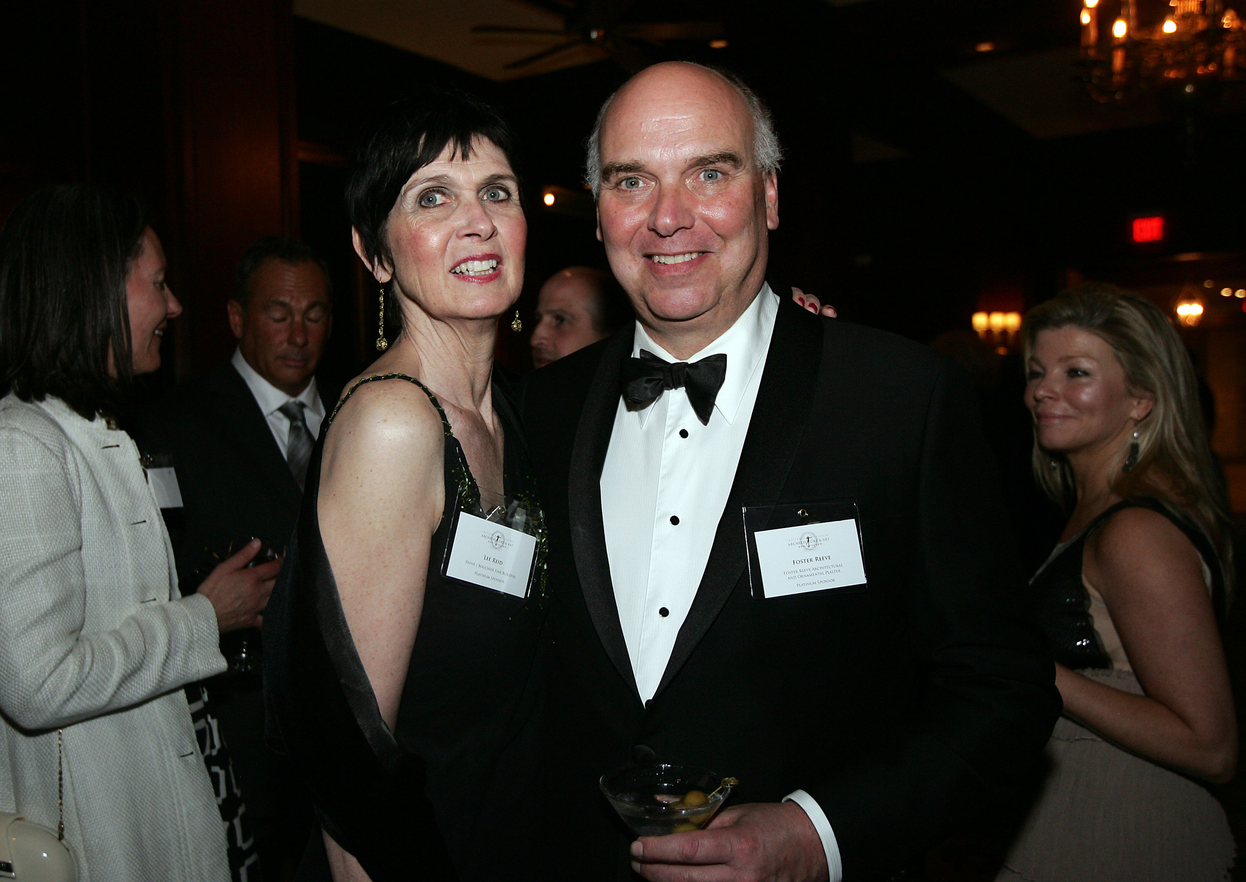Board member Lee Reid, Foster Reeve
