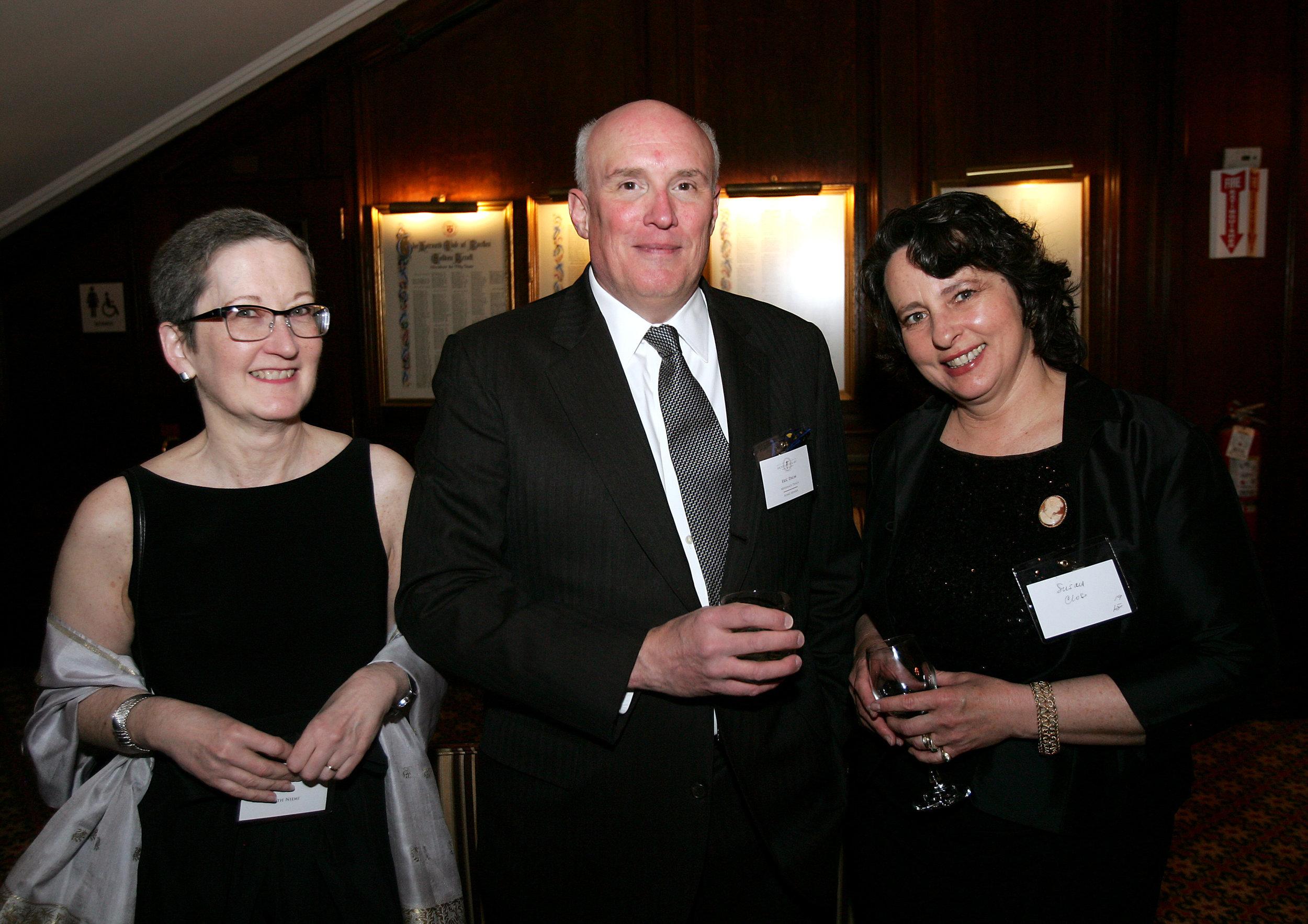Beth Niemi, Board member Eric Daum, Board member Susan Close