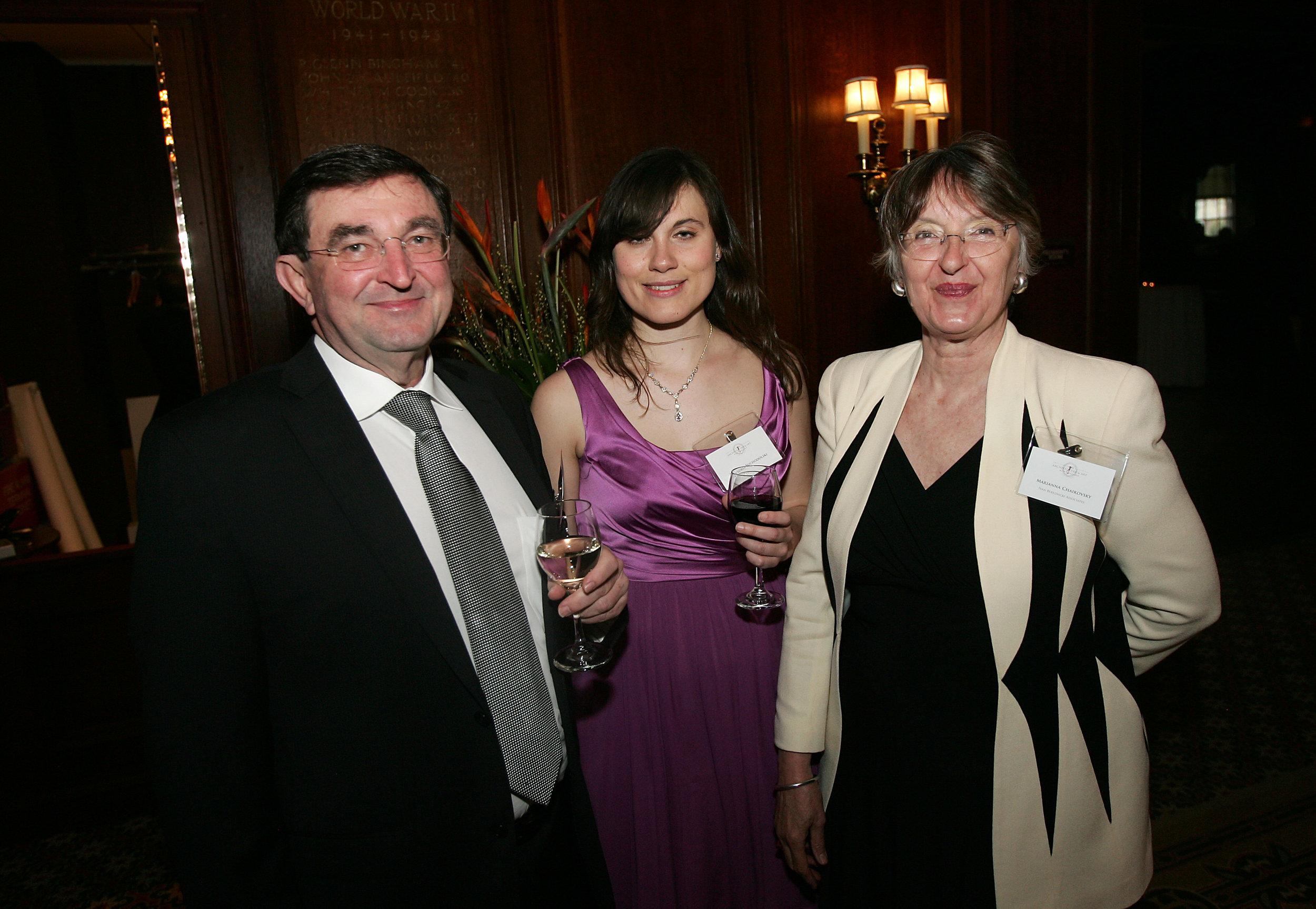 Ivan Bereznicki, Victoria Suchodolski, Marianna Chaikovsky