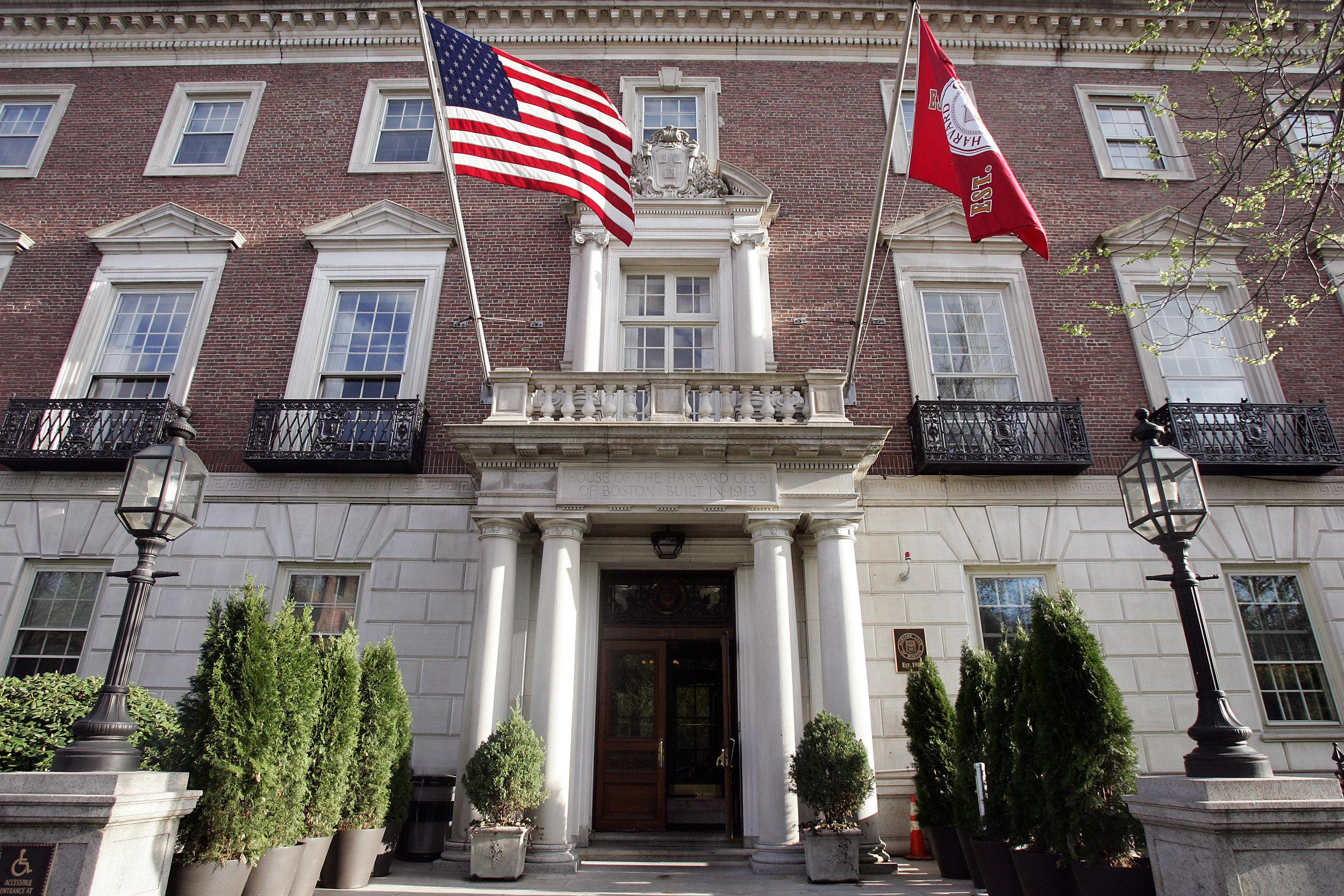 The Venerable Harvard Club of Boston