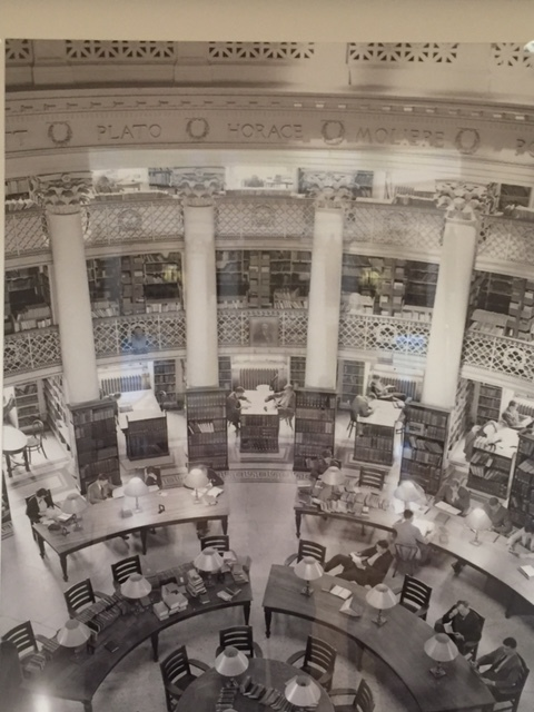 McKim Mead & White's 1895 two-story library space, which was removed for the historically-accurate renovation.