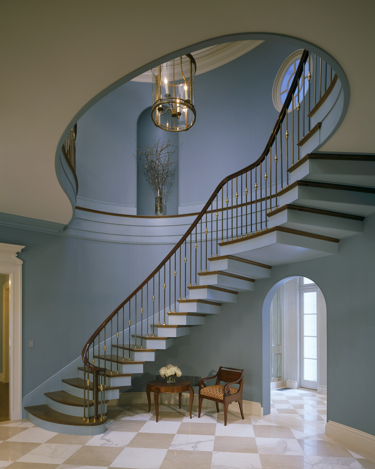 """Residential (New Construction) Over 5,000 SF - Peter Pennoyer Architects""""Federal House"""""""
