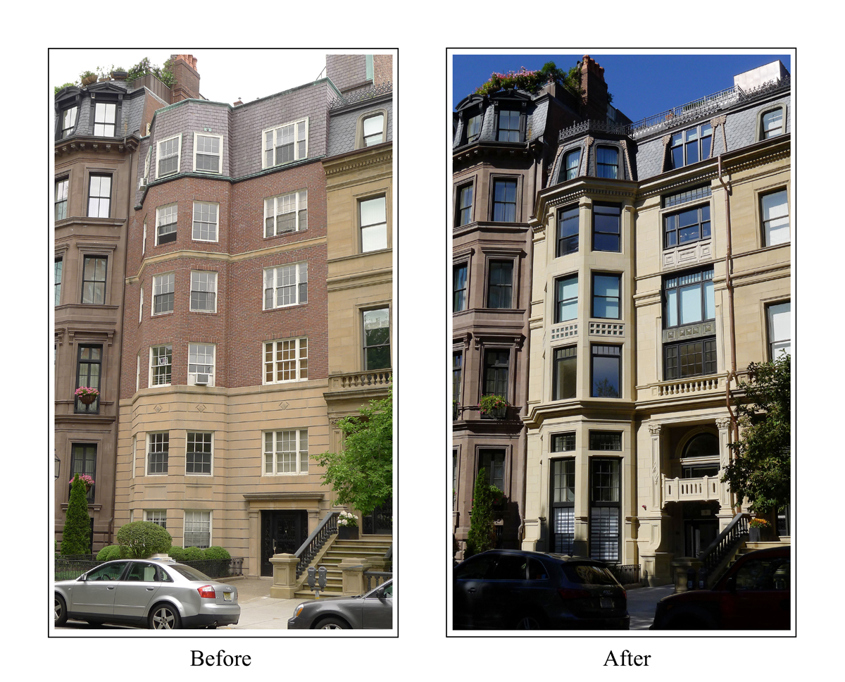 """Townhouse & Apartments - Meyer & Meyer, Inc. Architecture and Interiors """"9 Commonwealth Avenue, Boston"""""""