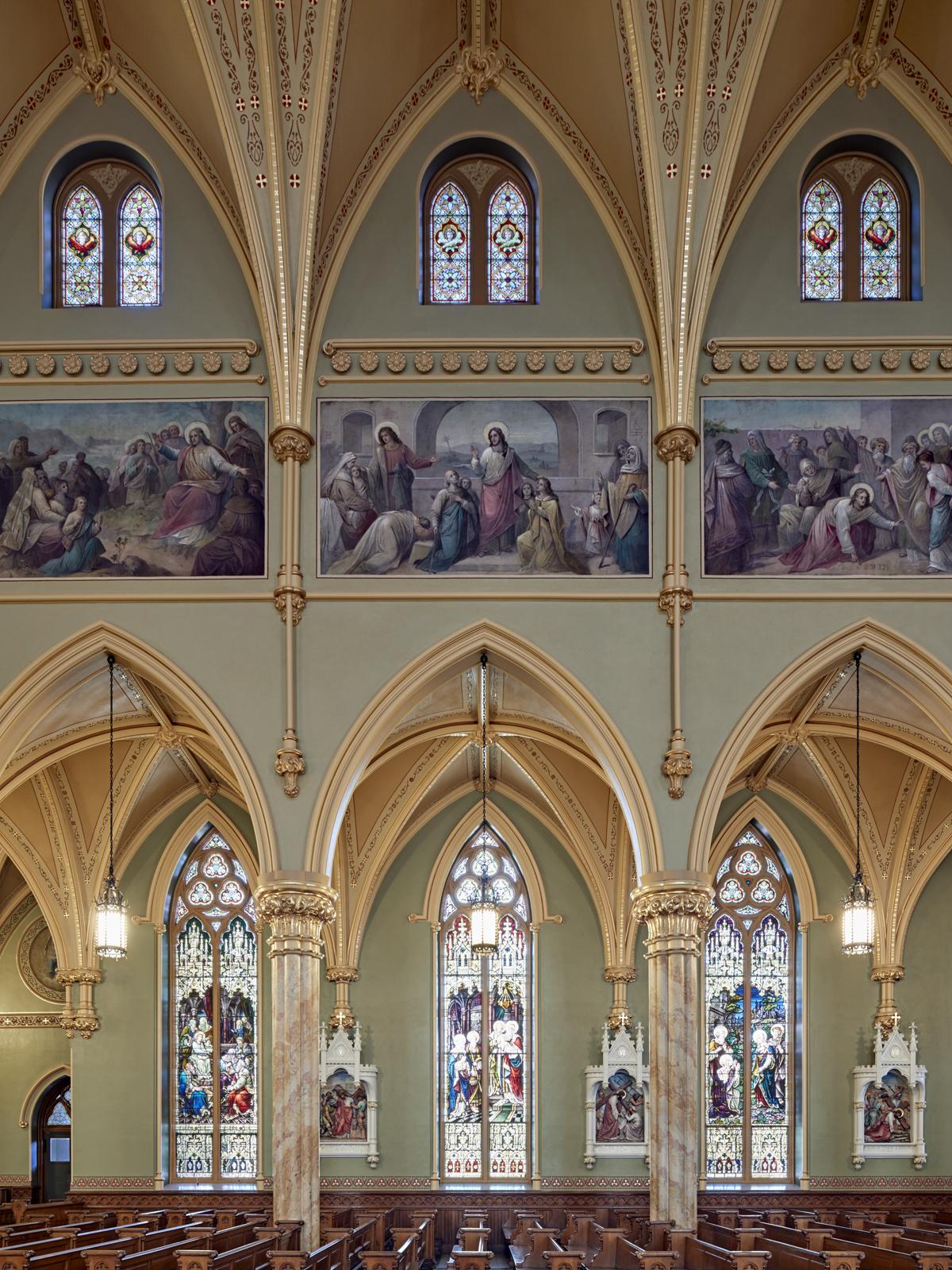 "Historic Preservation - John Canning & Co. Ltd. ""Saint Patrick's Catholic Church"""