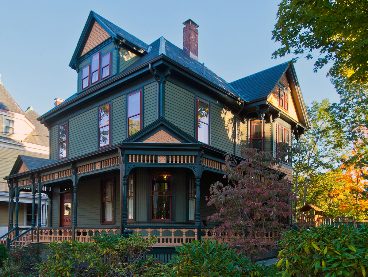 """Residential (Restoration, Renovation or Addition) - Frank Shirley Architects """"Queen Anne Victorian"""""""