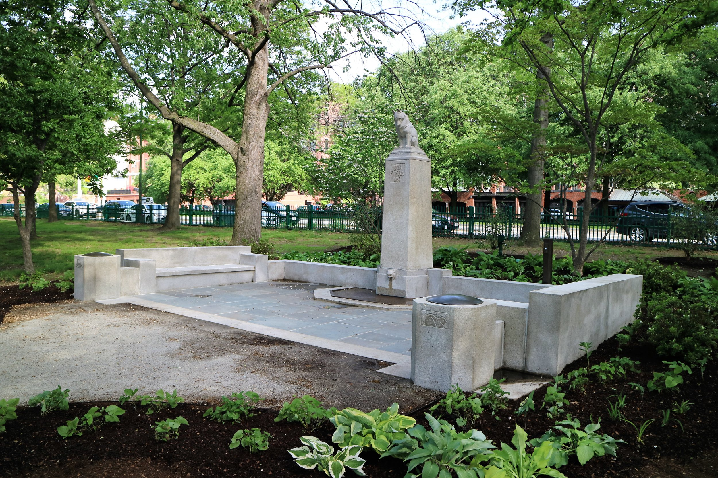 "CIVIC  Catherine Truman Architects for ""Lotta Fountain Restoration"""